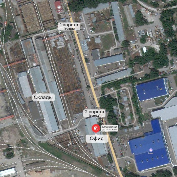 Карта проезда Дон-Комплект